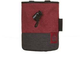 E9 Topo Small Chalkbag red/black